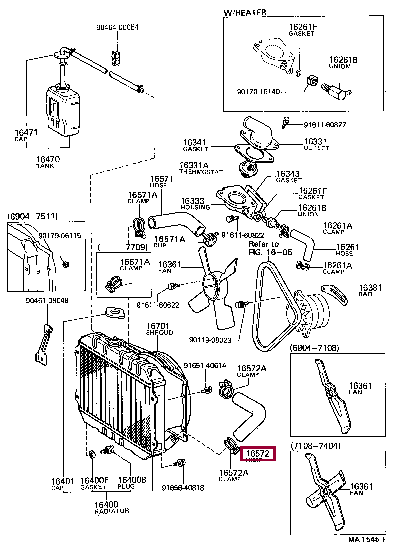 9091601124: HOSE, RADIATOR, OUTLET Тойота