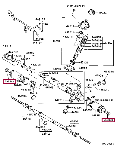 9008046153: CLIP(FOR STEERING RACK BOOT) Тойота